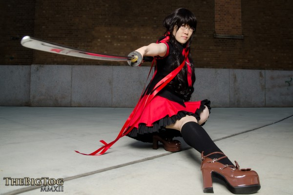 Saya Kisaragi (Blood-C) - 2012 New York Comic Con