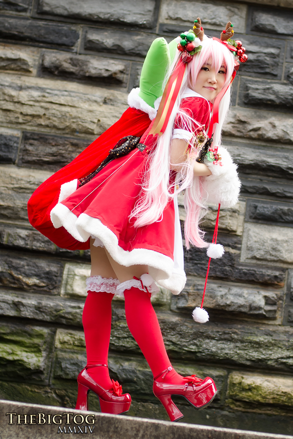 Santa Miku Hatsune - Vocaloid